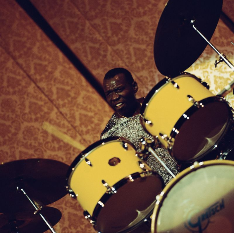 Elvin Jones on the Drums