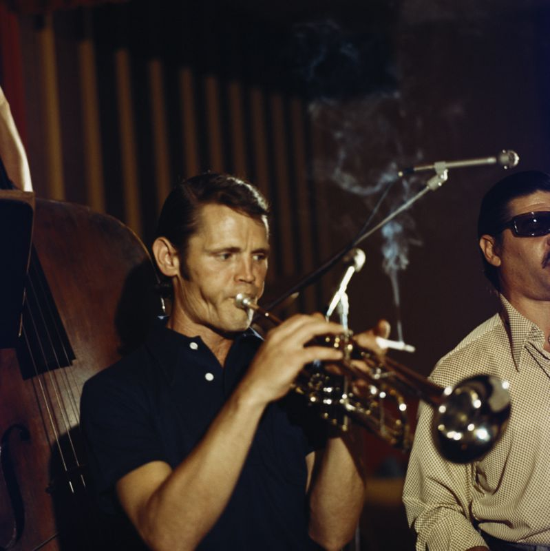 Chet Baker at the Blue Note Club