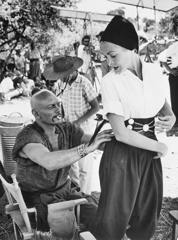 Yul Brynner and Janet Leigh