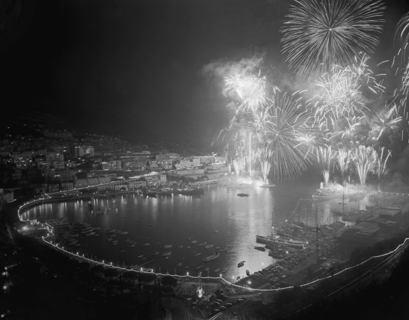 Fireworks at Monaco
