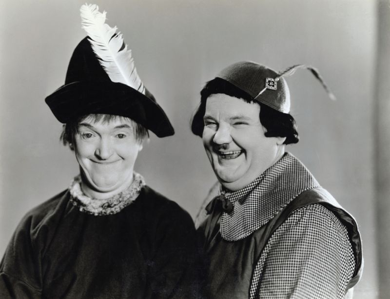 Laurel and Hardy in Babes in Toyland