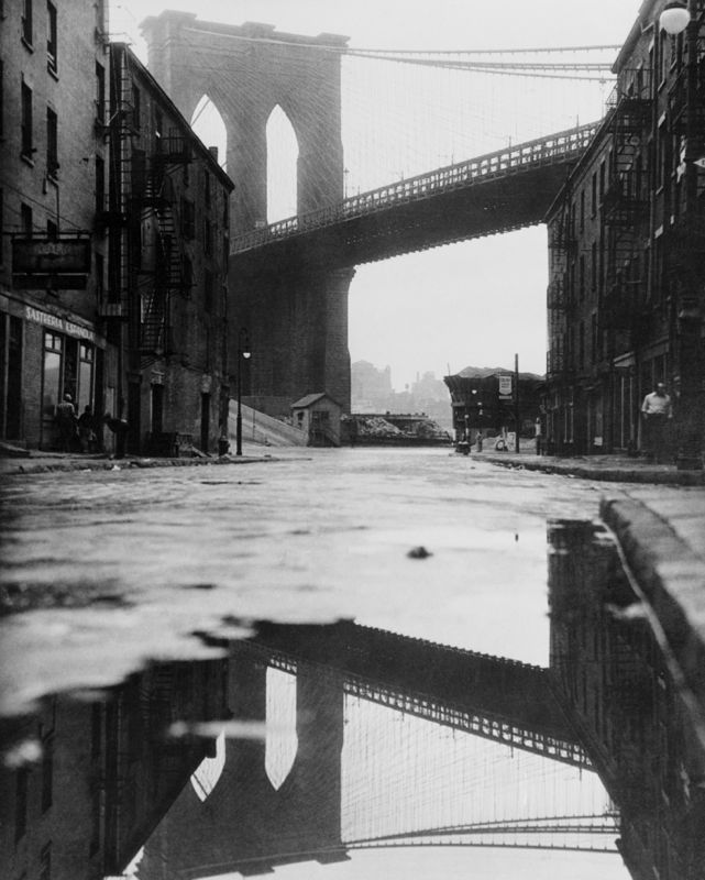 Brooklyn Bridge Reflection