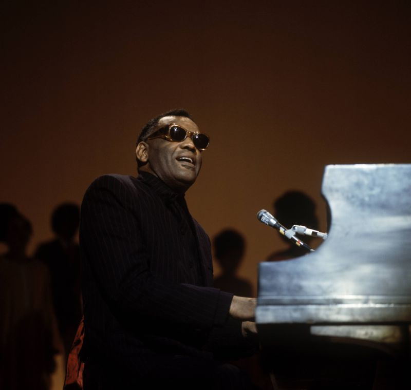 Ray Charles on the Duke Ellington Tribute Show