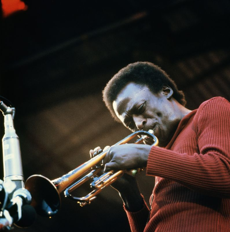 Miles Davis at the Isle of White Festival