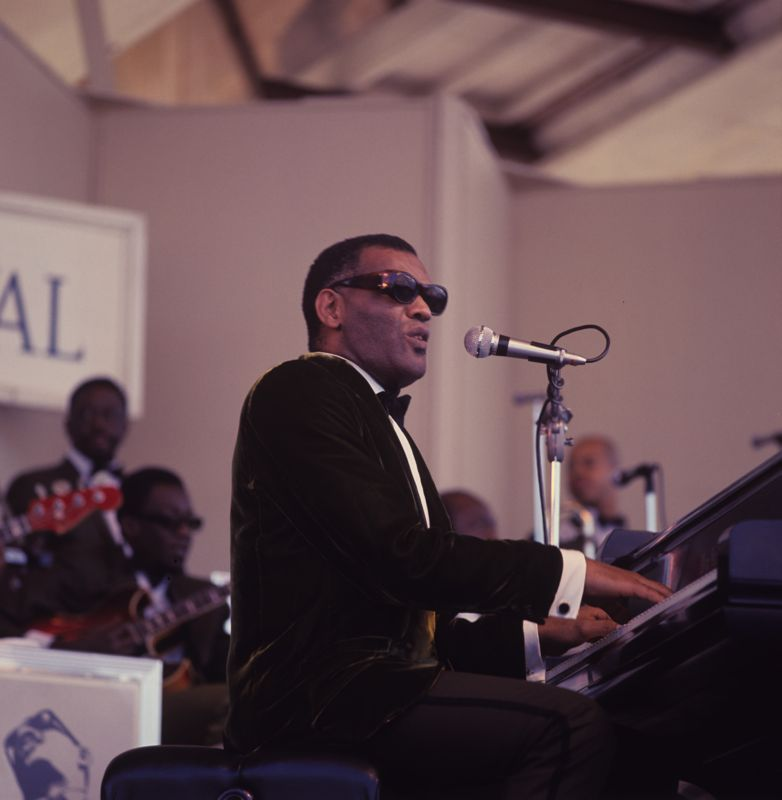 Ray Charles at the Newport Jazz Festival