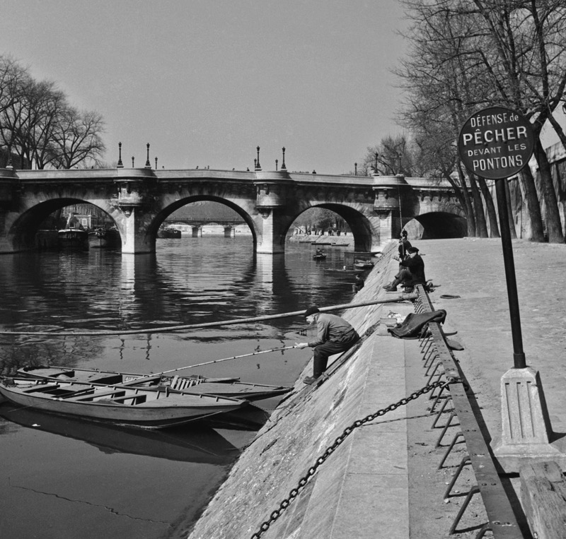 Fishing In Paris