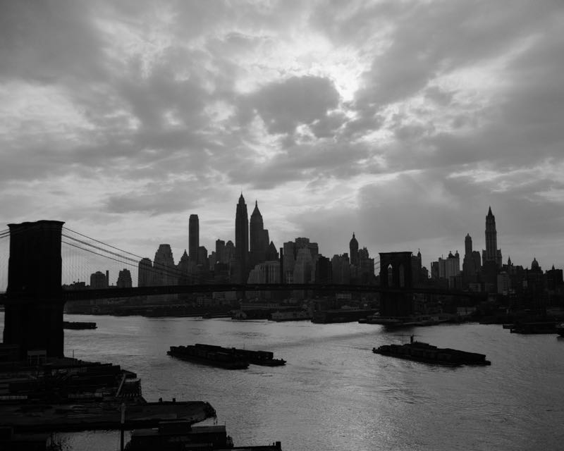 Dramatic Sky Over Manhattan