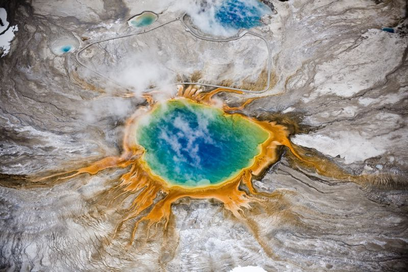 Grand Prismatic Thermal Spring
