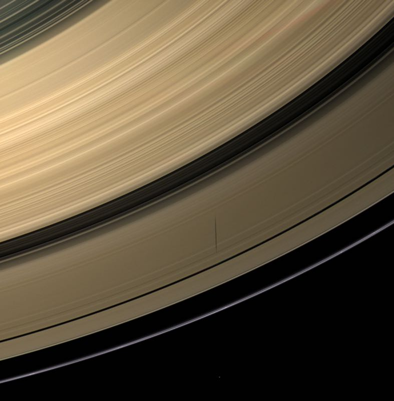 Saturn's Rings at Equinox