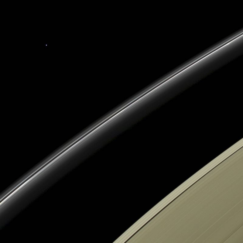 Saturn's Rings and Uranus