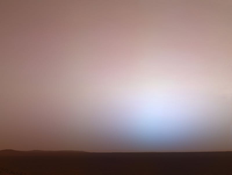 Martian Twilight