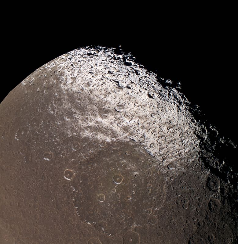 Saturn's Moon Lapetus