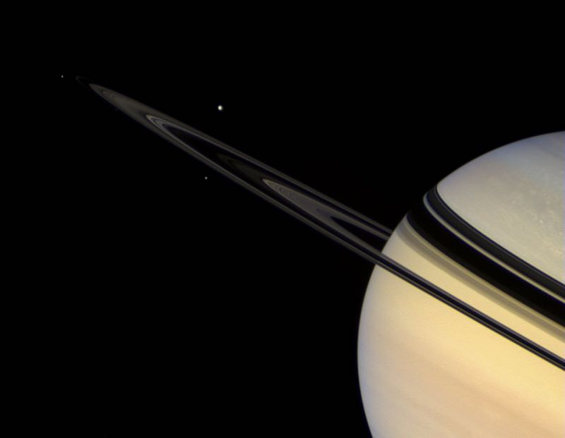Saturn's Trilogy Moons