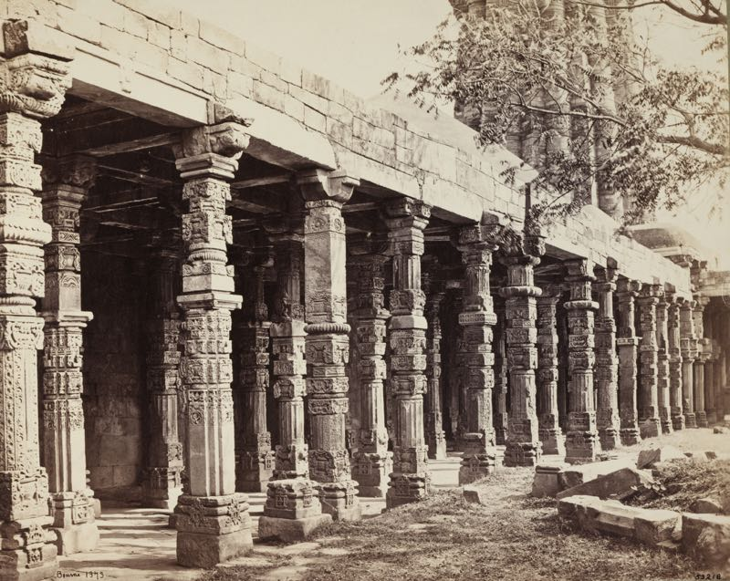 Pillars at the Qutub
