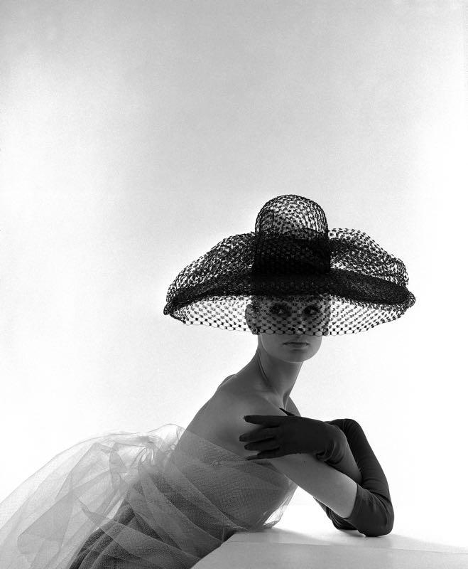 Jean Shrimpton In Madame Paulette Hat