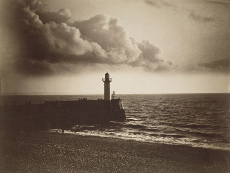 Lighthouse And Jetty