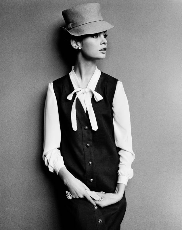 Jean Shrimpton In Mary Quant