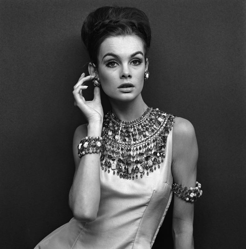 Jean Shrimpton In Evening Dress