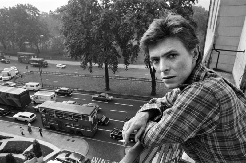 David Bowie In London