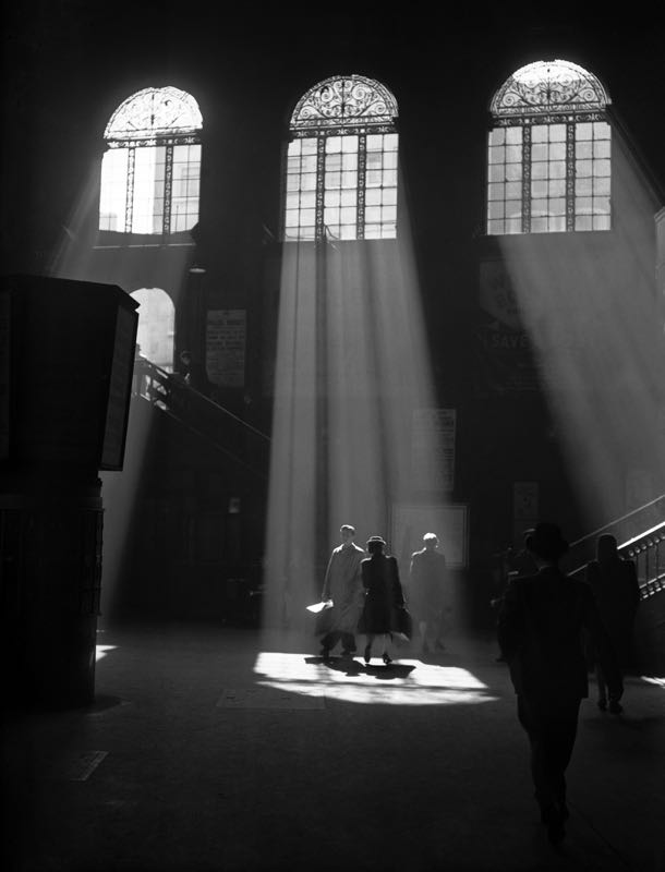 Sunbeams Into Liverpool Street Station