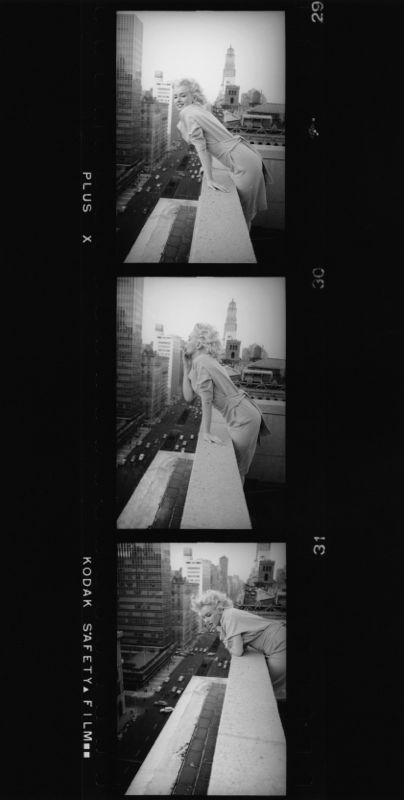 Marilyn Monroe Contact Strip