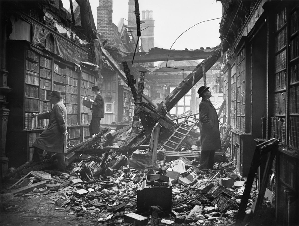 Damaged Library