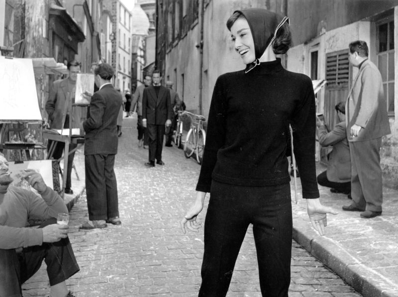 Hepburn At Paris