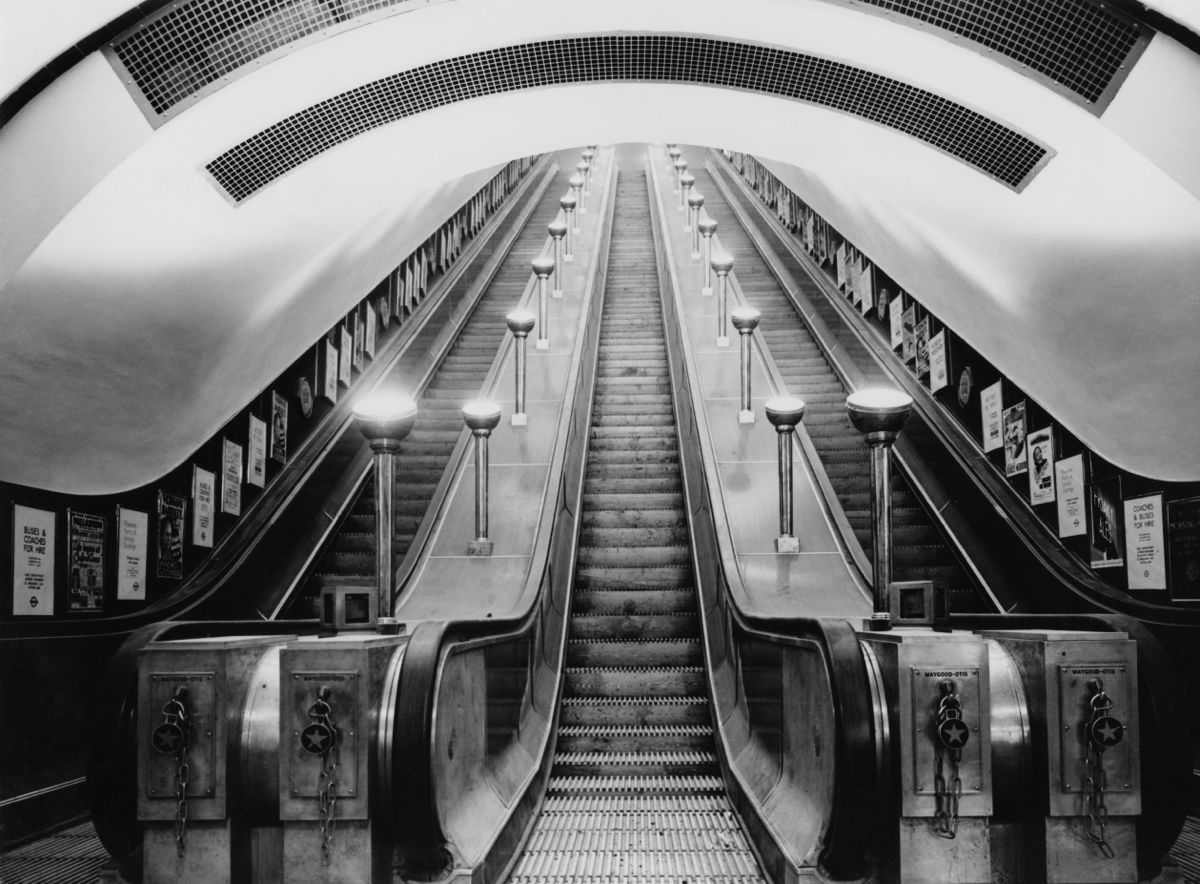 Underground Escalator