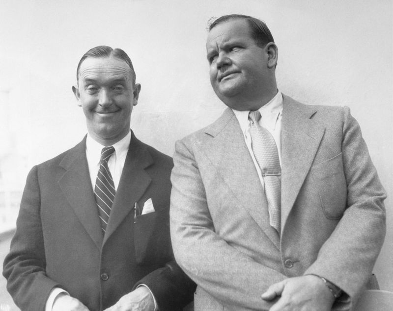 Laurel and Hardy on Vacation