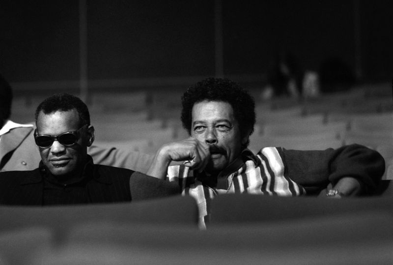 Ray Charles and Billy Eckstine