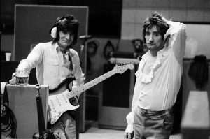 Faces, Ronnie Wood, Rod Stewart