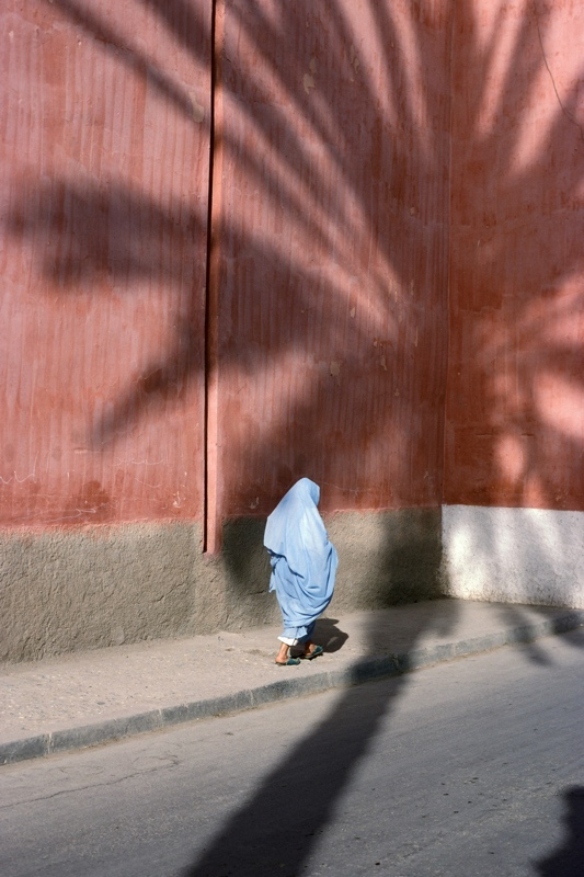 Woman Walking in Morocco