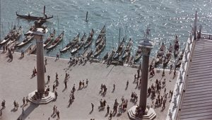 Visitors in Venice