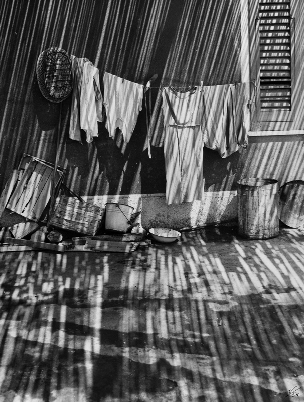 Laundry in Shadows