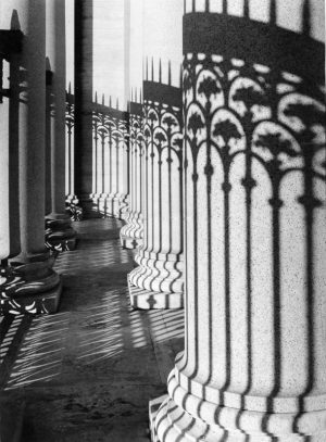 Shadow on Columns