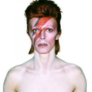 David Bowie Aladdin Sane Eyes Open