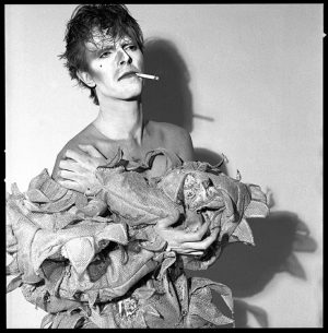 David Bowie Scary Monsters Smoking