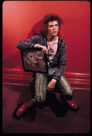 David Bowie With Hunky Dory