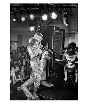 Bowie And Ronson On Stage