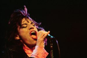 Mick Jagger On Stage